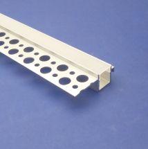 Led Plaster in Profile 3 metre Recessed