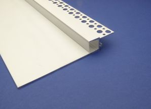 Shadow Gap Plaster in Profile For Led Strip 2 metre recessed