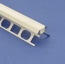 Led Aluminium Profile 2m For Tiled External Corner