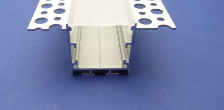 Plaster in Profile For Led Strip 3 metre recessed