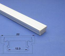 Led Aluminium Profile 2m For Recessed Floor