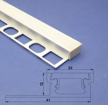 Led Aluminium Profile 2m For Tiled Floor and Wall Edge