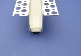 Plaster in Profile For Led Strip 2 metre recessed