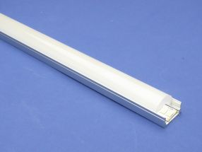 Led Aluminium 2 metre profile Clear Lid