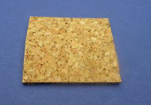Cork filler for Plaster in profile 1 metre square