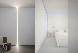 Led Plaster in Profile 2 metre for Internal Corner