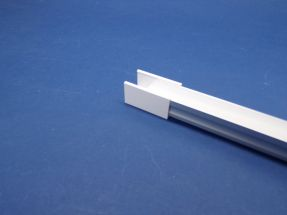 Led Aluminium 2 metre profile Frosted Lid
