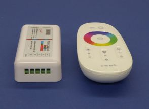 Wireless Wifi controller for 12 and 24 volt led strip