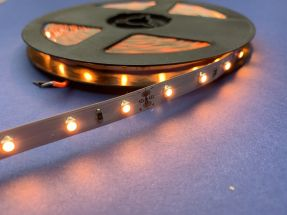 Led Strip 4.8 Watts Amber 5 Metres