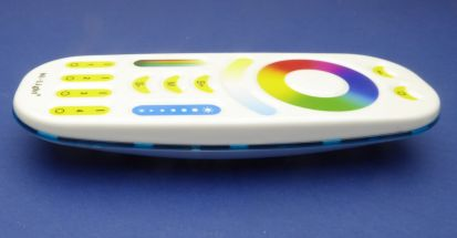 4 Zone Remote control for 12 and 24 volt RGB Tunable led strip